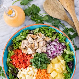 Pineapple Sriracha Chicken Salad.
