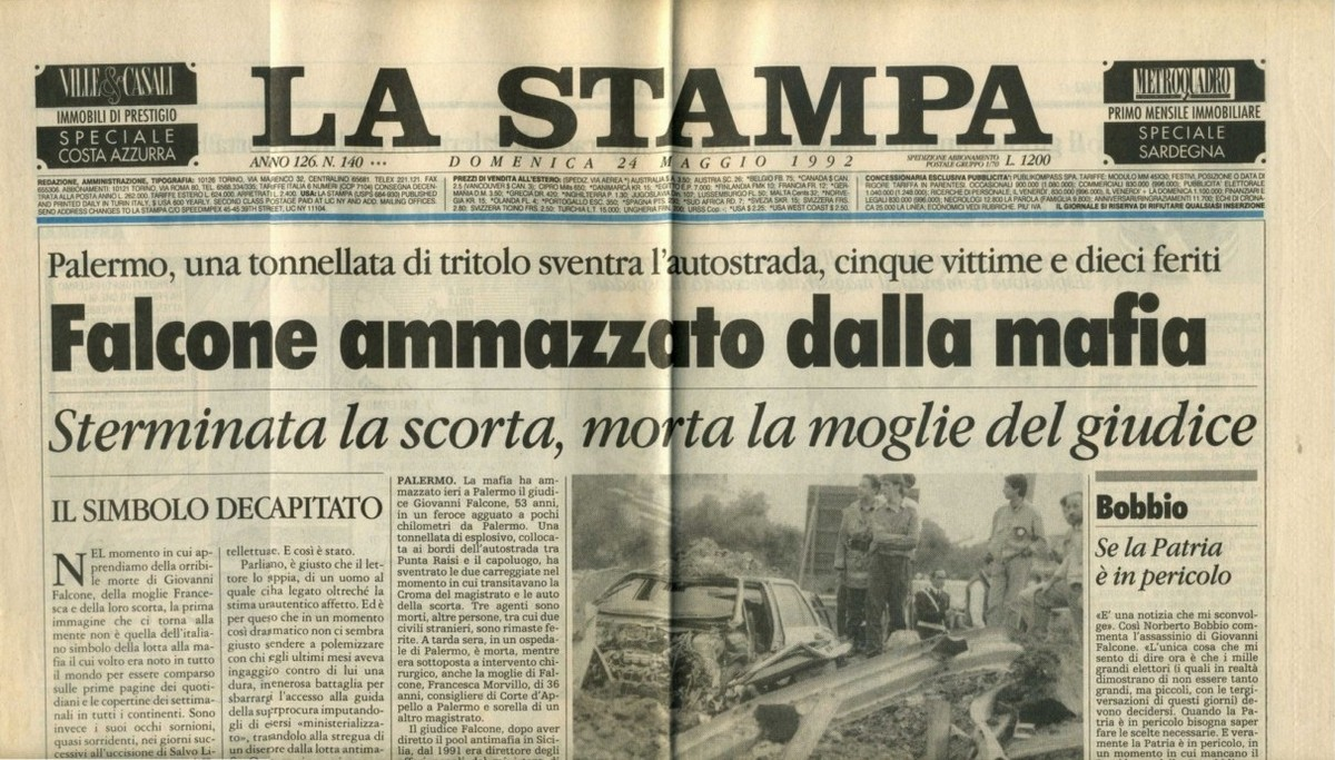 mafia en Italia