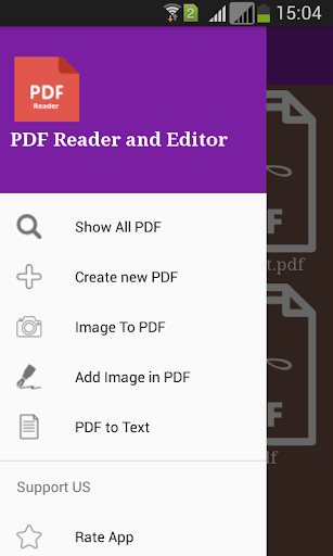 PDF File Reader  screenshots 1