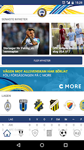 Allsvenskan Live (officiell)- screenshot thumbnail
