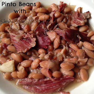 Pinto Beans with Smoked Ham Hocks Slow Cooker.