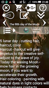 Lunar Calendar. Haircut,Beauty- screenshot thumbnail