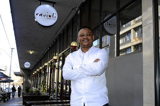 From Rabokala to Maboneng, that's the story of Ravioli owner Mpho Masilo./Mduduzi Ndzingi