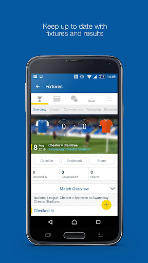 Fan App for Chester FC