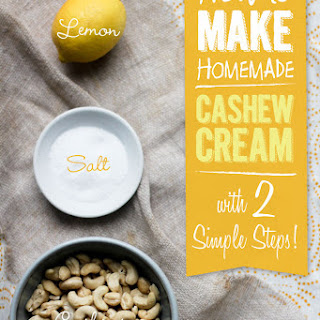 Cashew Cream (Gluten Free & Vegan)