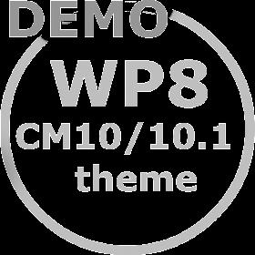 WP8 Demo Cm10 Cm10.1 theme.
