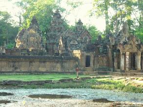 Photo: #002-Le temple hindouiste de Banteay Srei. Site classé au Patrimoine mondial de l'Unesco.