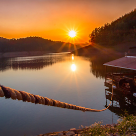 Lokve lake by Stanislav Horacek - Landscapes Sunsets & Sunrises