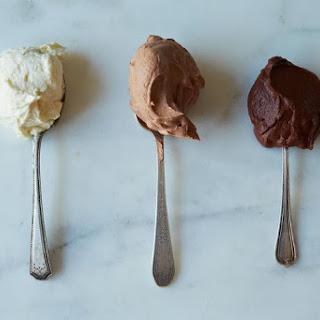 White Chocolate Ganache.