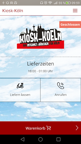 android Kiosk-Köln Screenshot 0