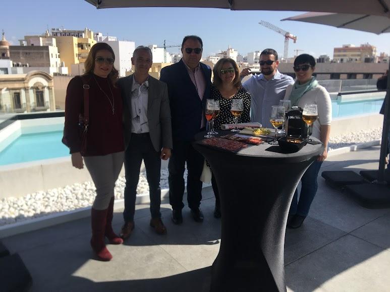 NDH Ecológicos y UP-Creative, empresas almerienses disfrutando en un encuentro exclusivo de SER Empresarios, con Emilio Hernández y María del Mar Cholbi