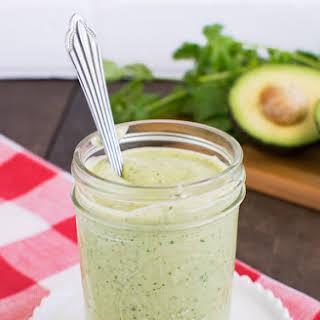 Avocado Lime Salad Dressing.