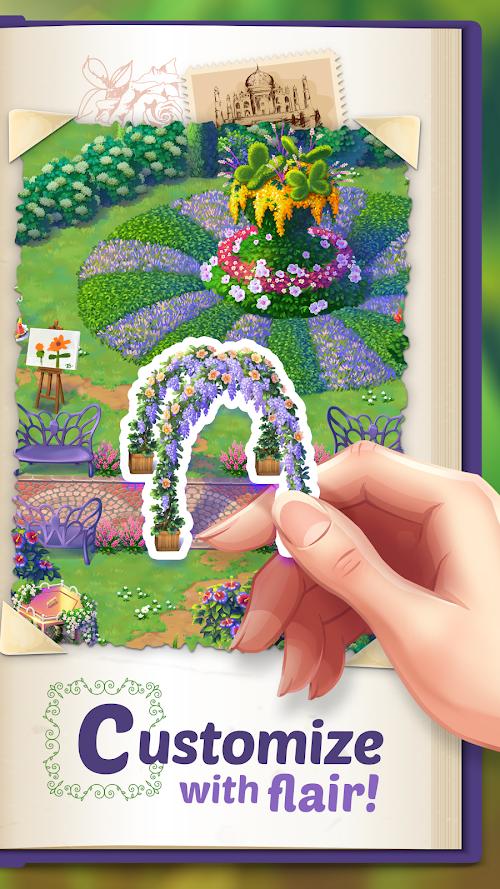 Screenshot 2 Lily's Garden 1.24.0 APK MOD