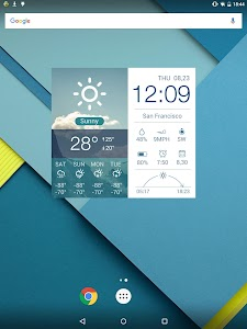 Multifunctional Weather Clock screenshot 7