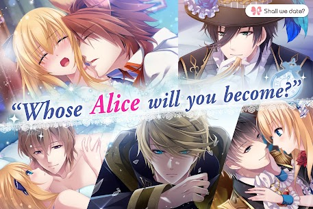 Lost Alice in Wonderland Shall we date otome games Apk 1