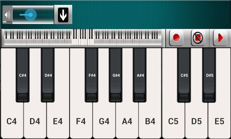 Piano- screenshot