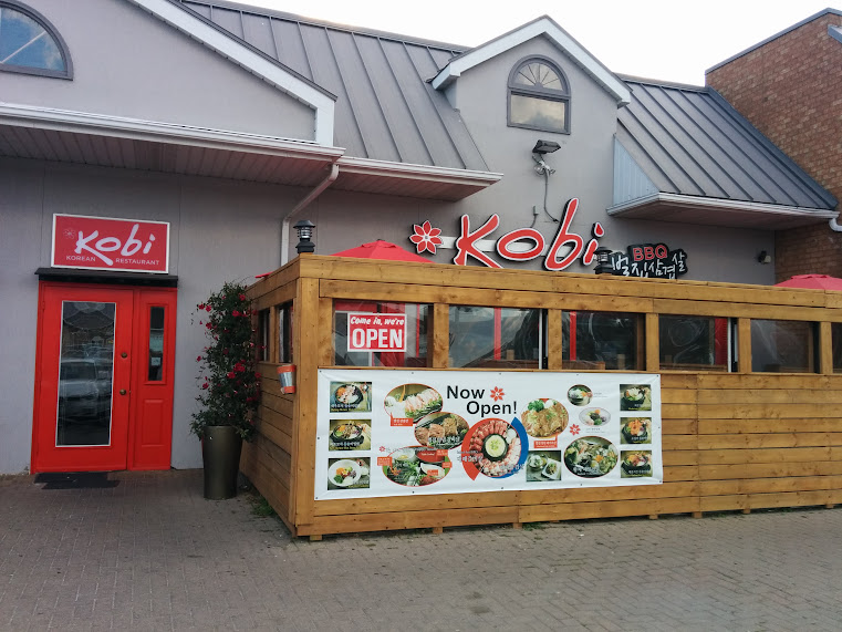 The front of the Kobi restaurant in North York