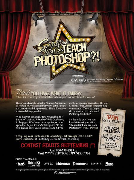 Photo: Photoshop contest ad