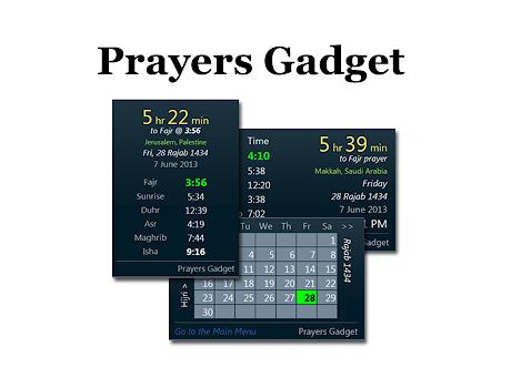 Prayers Gadget