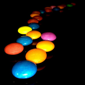 Colourfull GEMS by Amit Kumar - Instagram & Mobile iPhone ( gems, chocolate, color beads, food, trail )