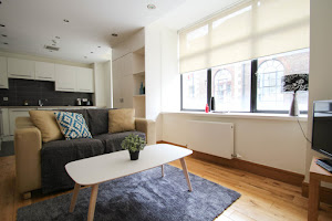 living area hatton garden rental apartment
