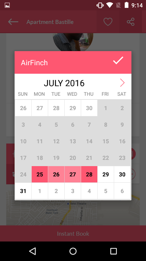 AirFinch- screenshot
