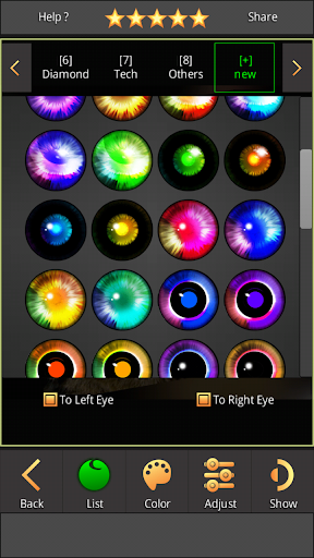 FoxEyes - Change Eye Color by Real Anime Style screenshot 19