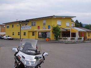 Photo: N46 47.003 E14 22.597 in Hunnenbrunn ein echtes Bikerlokal zum Speisen