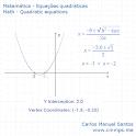 Las ecuaciones cuadráticas icon