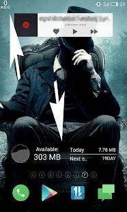 Internet Speed Meter - Usage Screenshot