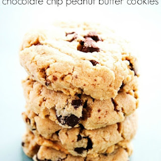 Soft Baked Chocolate Chip Peanut Butter Cookies.