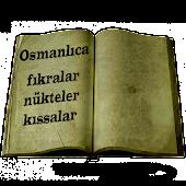 Osmanlıca Fıkralar Nükteler