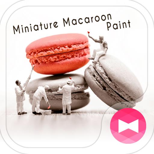 Cute Wallpaper Miniature Macaroon Paint Theme Icon