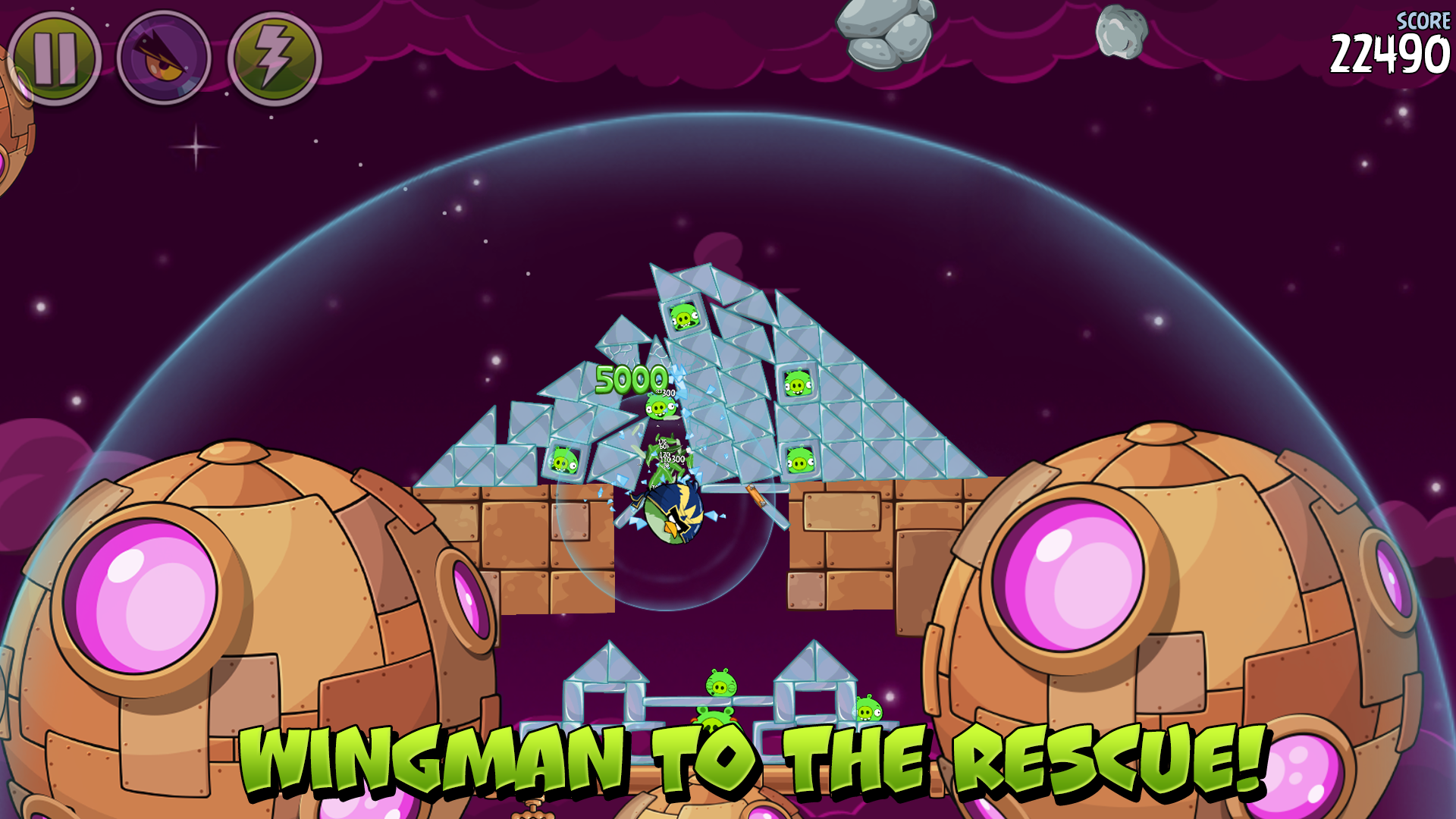 Angry Birds Space Premium screenshot #8