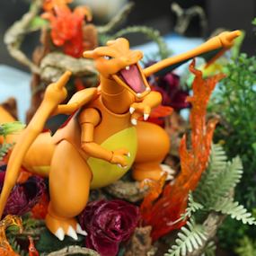 Orange Dragon by Timmothy Tjandra - Artistic Objects Toys ( orange, toy, toys, dragon, oranges, anime,  )