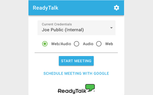ReadyTalk Google Calendar Integration