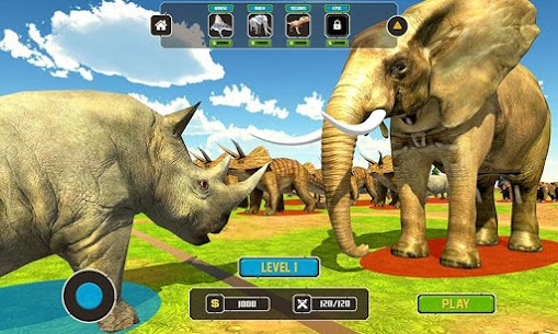 Wild Animals Kingdom Battle 3