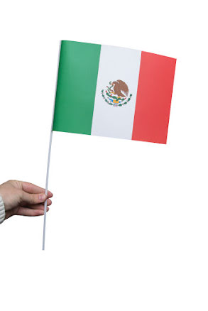 Pappersflagga, Mexiko