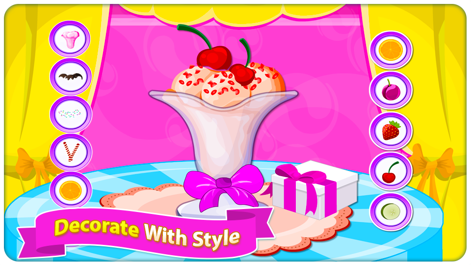 Gelato Passion - Cooking Games- screenshot