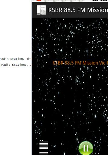 KSBR 88.5 FM Mission Vie Radio