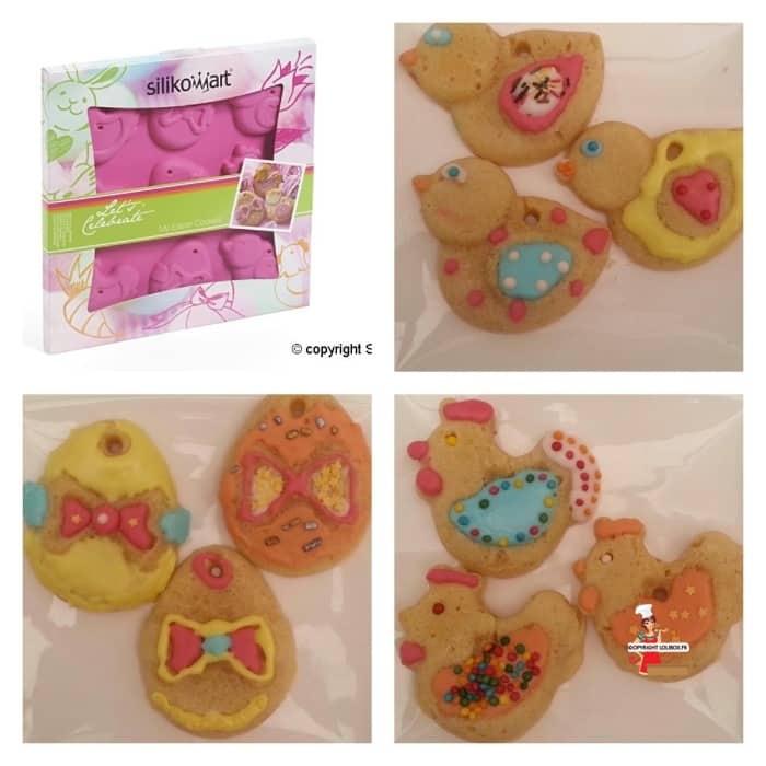 Easter Cookies (Silikomart) Recipe