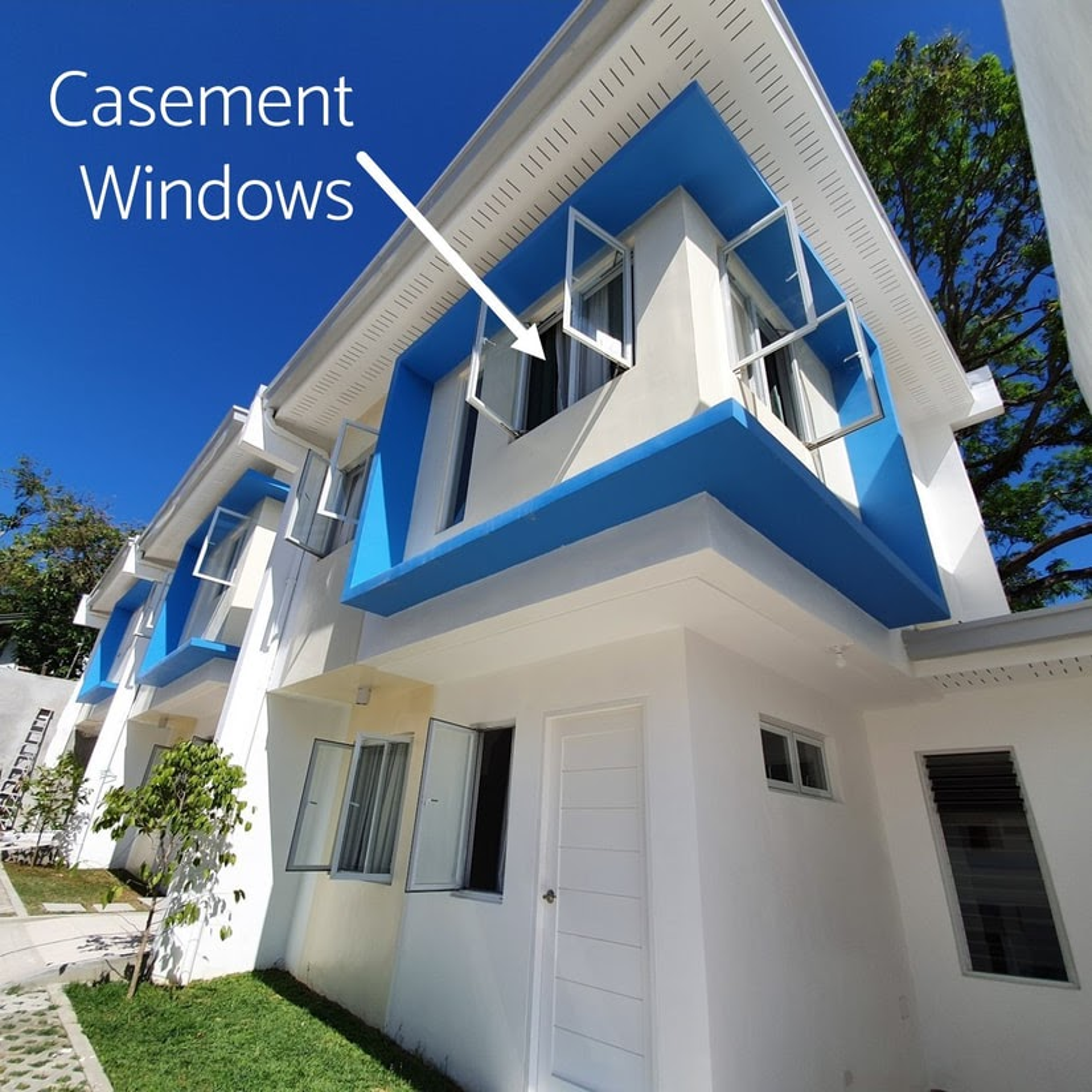 Blu Homes Gakakan openable windows