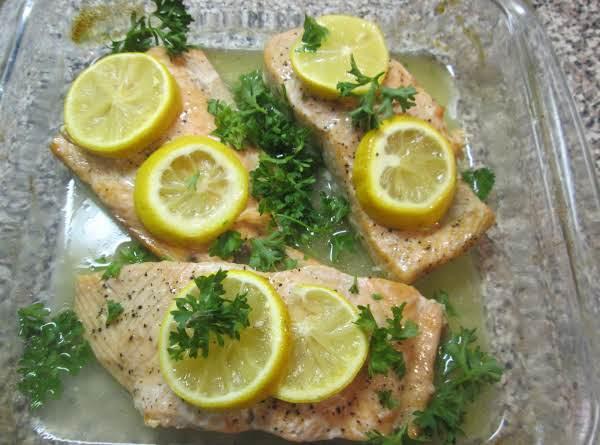 Lemon/butter Salmon