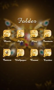 Noble GO Launcher Theme- screenshot thumbnail