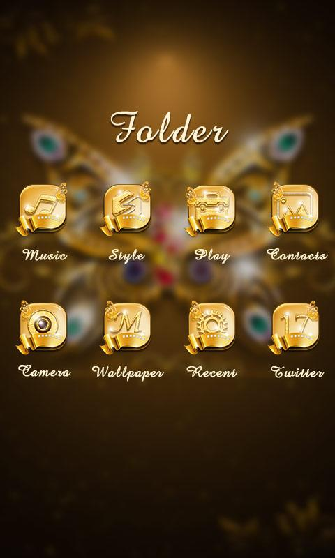 Noble GO Launcher Theme- screenshot