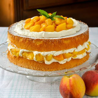 Bourbon Peach Shortcake
