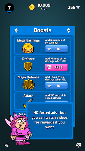 Merge Wars - Idle Hero Tycoon apkmind screenshots 23