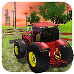 Tractor Valley Simulator 3D Icon