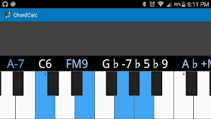 ChordCalc screenshot for Android