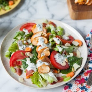 Smoked Paprika Chicken Salad with Homemade Ranch Dressing.
